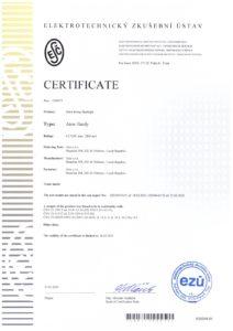 CE certificate Aton Handy